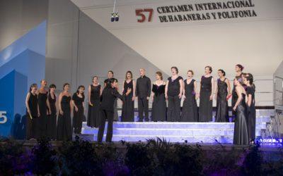 Concierto en la Trovada de Habaneras 2019, organizada por la Fundación de Habaneras Teresa Pérez Daniel