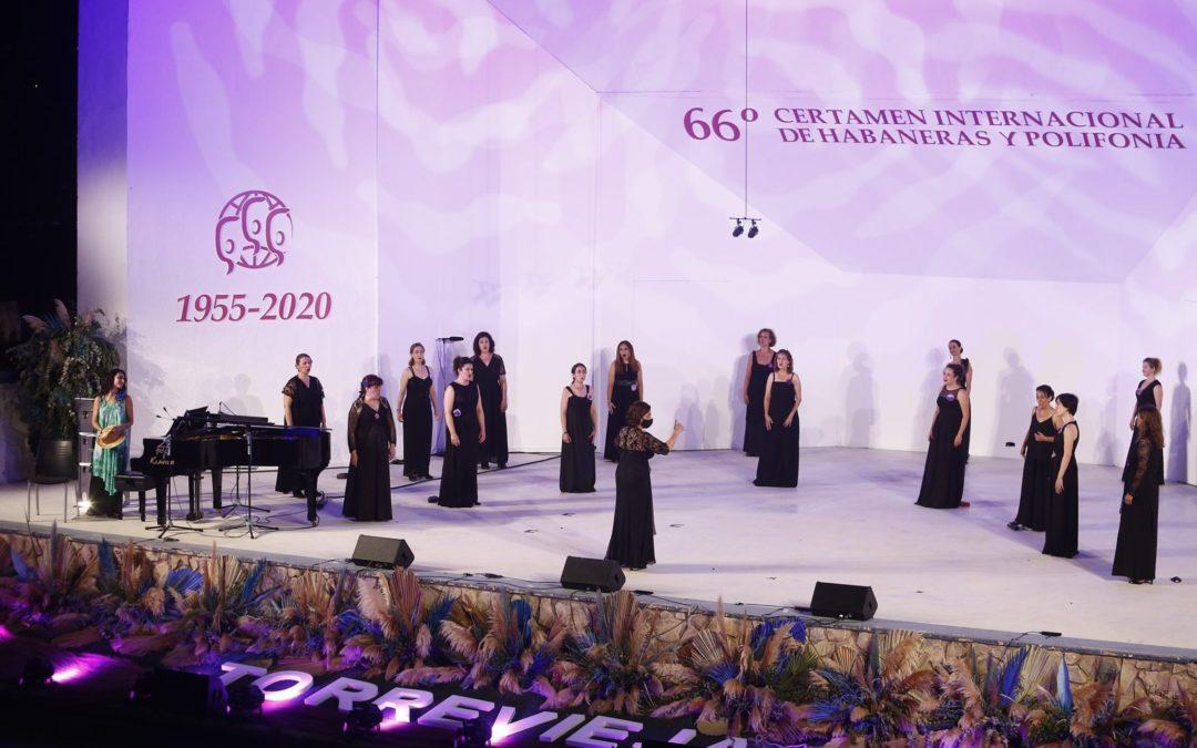 Concierto en el 66º Certamen Internacional de Habaneras y Polifonía de Torrevieja